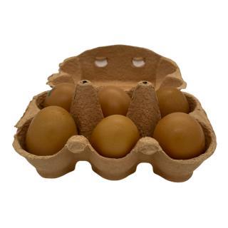 Eier Freiland Größe L 6er Karton