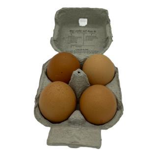 Eier Freiland Größe L 4er Karton