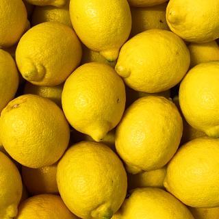 Zitrone unbehandelt